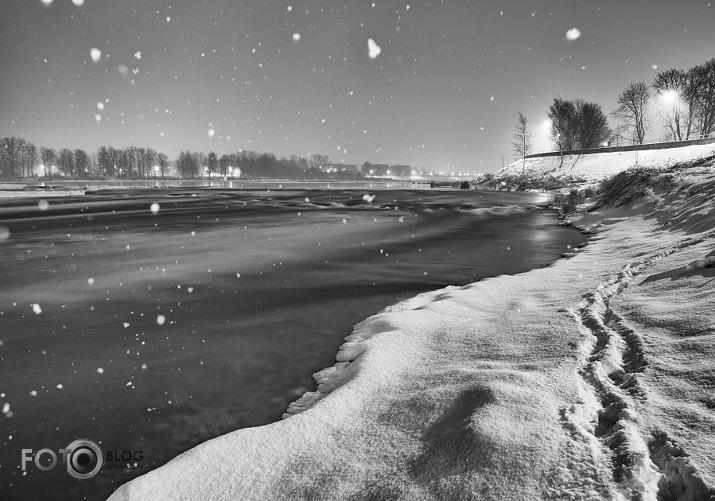 Sniegputenis. Jēkabpils