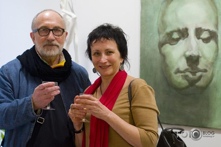 Vladimira Babkina izstāde Tatoo galerijā