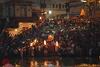 Uguns rituāls Gangā
